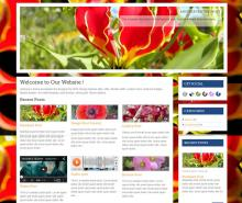 Snapshot---Gloriosa-Responsive-Wordpress-Theme